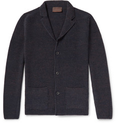 Altea - Mouline Virgin Wool-Blend Cardigan