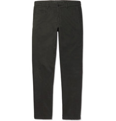 Altea Milano Slim-Fit Stretch-Cotton Gabardine Chinos