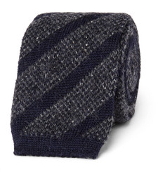 Altea - 6cm Knitted Wool-Blend Tie