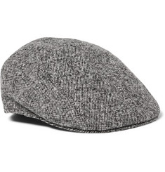 Altea - Wool-Blend Tweed Flat Cap