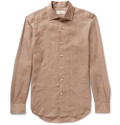 P. Johnson Slim-Fit Linen Shirt