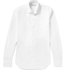 P. Johnson Cotton-Piqué Shirt