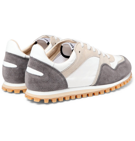 Marathon Trail Suede And Shell Sneakers - GraySpalwart Wq4JRO