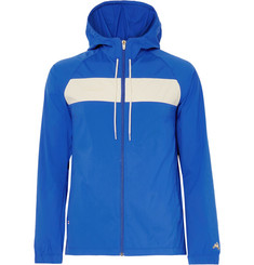 Tracksmith Logan Water-Repellent Stretch-Shell Hooded Jacket