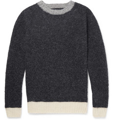 Howlin' Captain Harry Contrast-Trimmed Wool Sweater