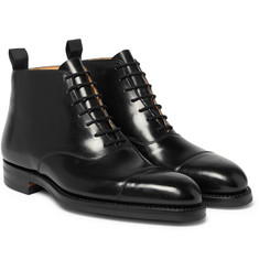 George Cleverley - William Cap-Toe Horween Shell Cordovan Leather Boots