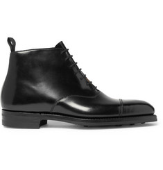 George Cleverley William Cap-Toe Polished-Leather Boots