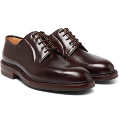 George Cleverley - Archie Cordovan Leather Derby Shoes