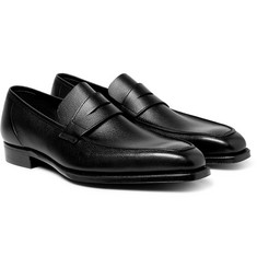 George Cleverley - George Full-Grain Leather Penny Loafers