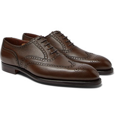 George Cleverley - Reuben Full-Grain Leather Wingtip Brogues