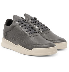 Filling Pieces Ghost Full-Grain Leather Sneakers