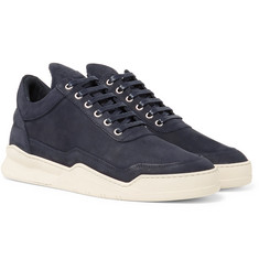 Filling Pieces - Ghost Lean Nubuck Sneakers