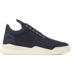 Filling Pieces Ghost Lean Nubuck Sneakers