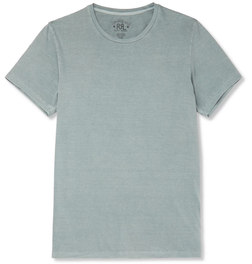 Cotton-jersey T-shirt - Army green