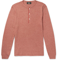 RRL - Waffle-Knit Cotton Henley T-Shirt