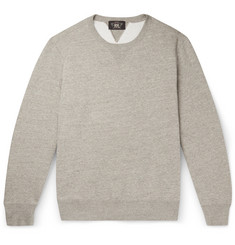 RRL Fleece-Back Cotton-Blend Jersey Sweatshirt