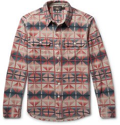 RRL - Printed Cotton-Terry Shirt