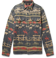RRL - Cotton-Jacquard Shirt