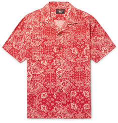 RRL - Camp-Collar Printed Woven Shirt