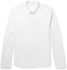 James Perse Crinkled-Cotton Shirt