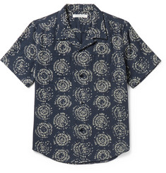 Outerknown - Constellation Camp-Collar Printed Organic Cotton Shirt