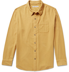Outerknown Transitional Brushed Organic Cotton-Flannel Shirt