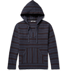 Outerknown Happy Striped Organic Cotton-Twill Hoodie