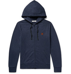 Outerknown Happy Carry On Hemp-Blend Zip-Up Hoodie