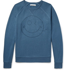 Outerknown Happy Transit Printed Hemp-Blend Sweatshirt