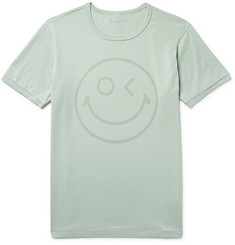 Outerknown Happy Printed Organic Pima Cotton-Jersey T-Shirt