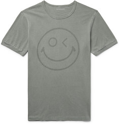Outerknown - Happy Printed Organic Pima Cotton-Jersey T-Shirt