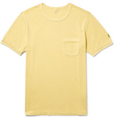 Outerknown Happy Appliquéd Organic Pima Cotton-Jersey T-Shirt