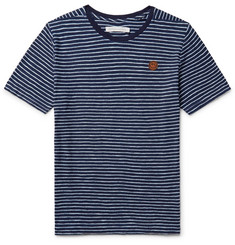 Outerknown Happy Striped Cotton T-Shirt