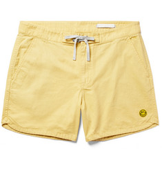 Outerknown Happy Source Mid-Length Organic Cotton and Hemp-Blend Swim Shorts