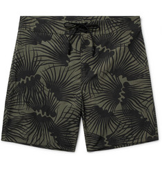 Outerknown Happy Evolution Long-Length Printed ECONYL Swim Shorts