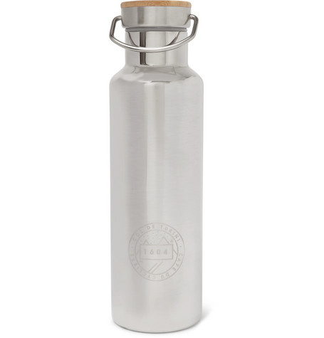 Cafe Du Cycliste Double-Walled Stainless Steel Bottle, 500Ml In Silver