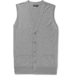 Thom Sweeney Slim-Fit Wool Vest