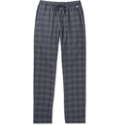 Hanro Checked Cotton-Flannel Pyjama Trousers