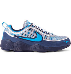 Nike Air Zoom Spiridon '16 Mesh and Suede Sneakers