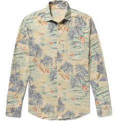 Faherty - Ventura Slim-Fit Printed Cotton-Flannel Shirt