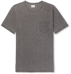 Faherty - Slub Mélange Cotton-Jersey T-Shirt