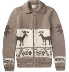 Faherty - Fair Isle Wool And Alpaca-Blend Cardigan