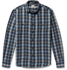 Faherty - Seasons Checked Cotton-Flannel Shirt