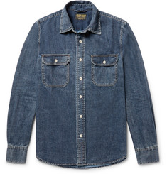 Jean Shop Kevin Slim-Fit Denim Shirt