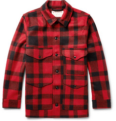 Filson - Mackinaw Crusier Checked Virgin Wool Shirt Jacket