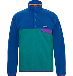 Patagonia Snap-T Colour-Block Synchilla Fleece Pullover