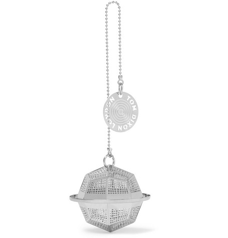 Tom Dixon Etch The Clipper Stainless Steel Tea Strainer In Silver