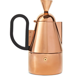 Tom Dixon Copper-Plated Stainless Steel Stovetop Coffeemaker