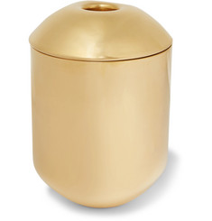 Tom Dixon Form Brass Tea Caddy