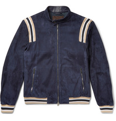 Tod's - Suede Bomber Jacket